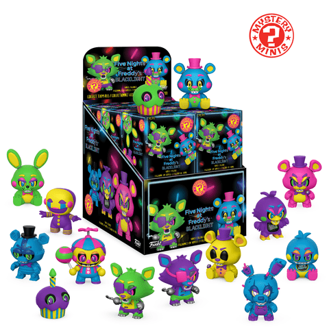 """Freddy Black Light 5/"""" Action Figure Five Nights at Freddy/'s"""