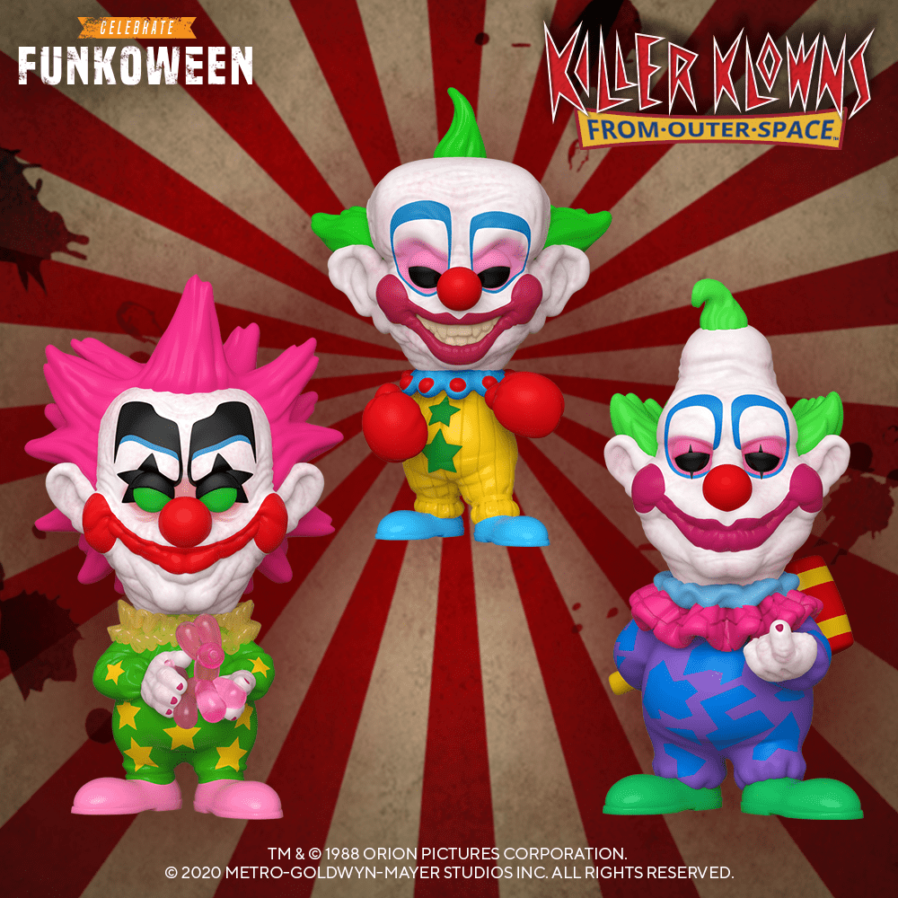 Killer Klowns From Outer-Space by Funko
