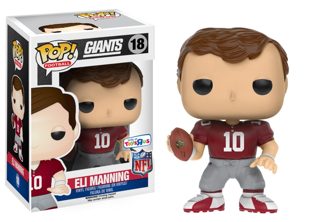 Eli Manning (Throwback Jersey) | Catalog | Funko - Everyone